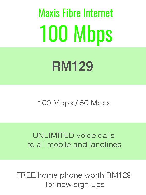 Package Info - maxis 100