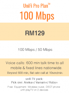 Package Info - unifi 100mbps